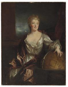 Portret van Gabrielle Émilie Le Tonnelier de Breteuil, marquise marquise du Châtelet