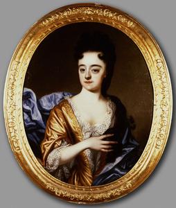 Portret van een vrouw, waarschijnlijk uit de familie Dellon