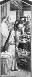 Het offer van Joachim wordt geweigerd door de priester