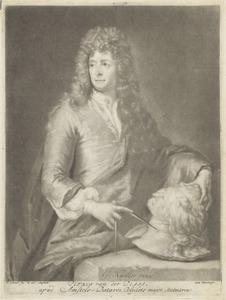 Portret van Pieter van der Plas II (....-1708)