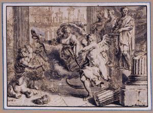 Oorlog, IJdelheid en de Tijd vernielen de werken van de Romeinse keizers