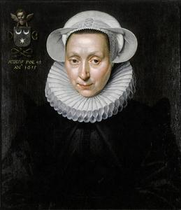 Portret van Christina Six (?-1645)