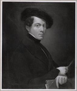Portret van Johan Christiaan Lambert Pijnacker (1815-1849)