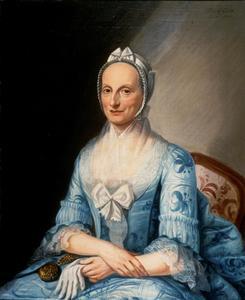 Portret van Christina Elberti ( -1779)
