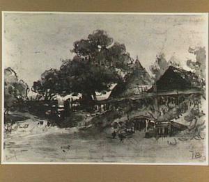 'De Bataaf', uitspanning in de Scheveningse bosjes