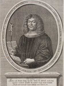 Portret van Johannes Emmel (1637-1680)
