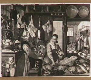 Twee vrouwen aan het werk in een keuken