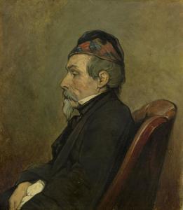 Portret van Louis Meijer (1809-1866)