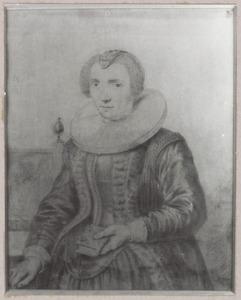 Portret van Maria Sasbout (1578-1629)
