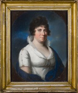 Portret van Maria Wilhelmina van Reede -Ginkel (1769-1852)