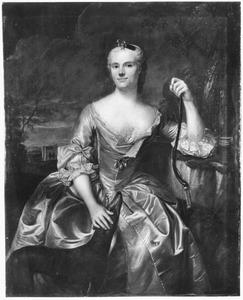Portret van Johanna Wilda van Wijhe (1720-1754)