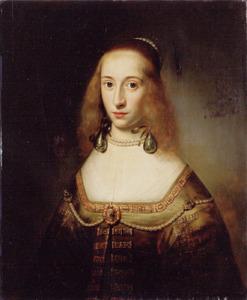 Portret van Agatha van Hartigsvelt (1627-1697)