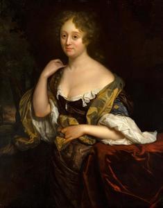 Portret van Isabella Agneta Deutz (1658-1696)