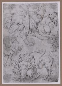 Acht gevleugelde monsters
