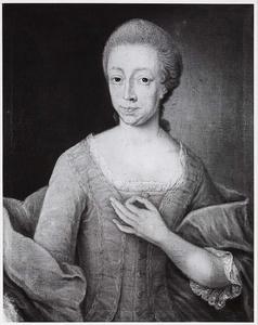 Portret van Anna Wilhelmina Tjarda van Starkenborgh (1740-1798)