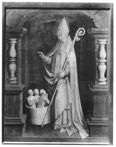 Retabel van de familie Brömse: heilige Nicolaas