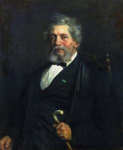 Portret van Pieter Blussé van Oud-Alblas (1812-1887)
