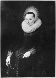 Portret van Maria Schurman (1575-1621)