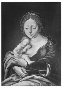 Maria met het slapende Christuskind