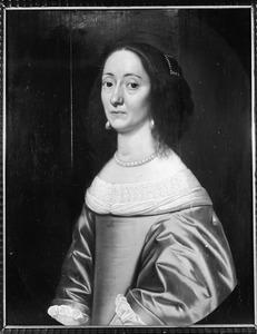 Portret van waarschijnlijk Geertruid Taets van Amerongen ( -1695)