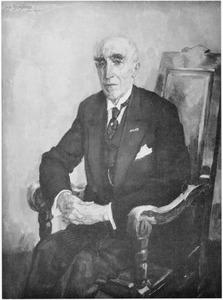 Portret van burgemeester Van Lanschot
