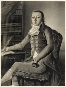 Portret van Christiaan Hendrik Jacob Pielat van Bulderen (1775-1807)