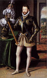 Portret van hertog Emanuele Filiberto di Savoia (1528-1580)