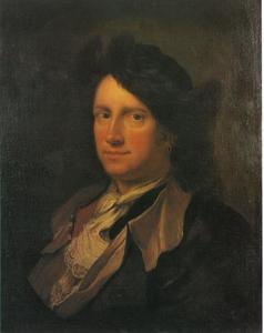 Zelfportret van Pieter Mulier II (1637-1701)