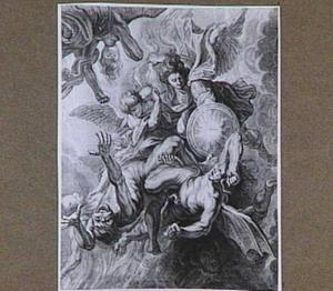 Val van de opstandige engelen (Openbaring 12: 7-9)