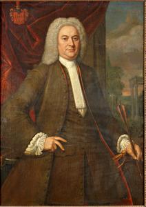 Portret van Cornelis van der Does (1690-1777)