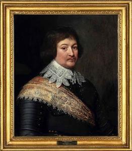 Portret van Bernard van Saksen-Weimar (1604-1639)