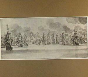 Zeeslag voor Katwijk op 9 augustus 1653