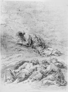 Christus biddend in de Hof van Olijven