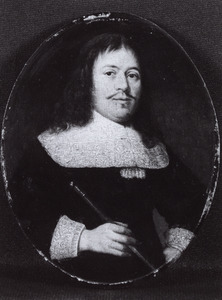 Portret van Anthonij Pietersz. van Bronckhorst (1615-1670), koopman te Delft