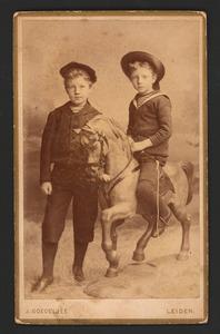 Portret van Frans en Dick de Graaff