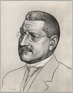 Portret van Hendrik Anthonie van Bakel (1874-1948)