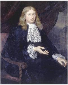 Portret van Melle Alberda (1642-1699)