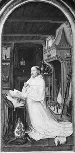 Christiaan de Hondt, dertigste abt van de cisterciënserabdij Ter Duinen bij Brugge (1495-1509) (Diptiek van Christiaan de Hondt)