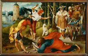 Het martelaarschap van de H. Matthias