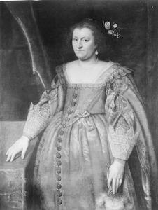 Portret van Sophia Hedwig van Brunswijk-Wolfenbuttel (1592-1642)