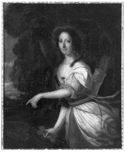Portret van Severdina Cornelia ten Berge (1655-1683)