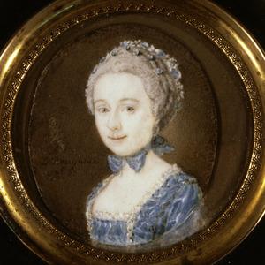 Portret van Johanna Christina Schoorn (1746-1811)