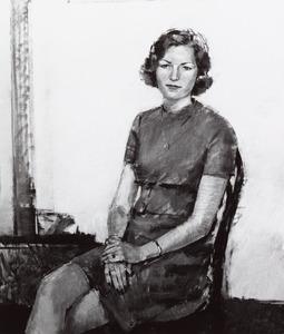 Portret van mejuffrouw Jansen