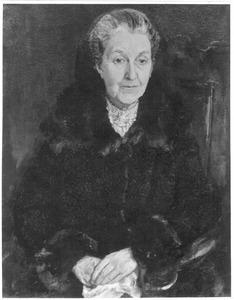 Portret van mevrouw Ter Kuile