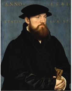 Portret van een man mogelijk Rolof de Vos (....-....)