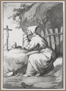 De H. Innocentius op de olijfberg