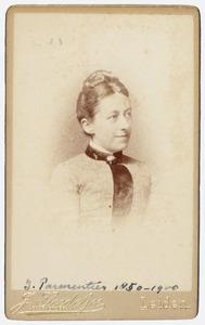 Portret van J. Parmentier