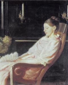 Portret van de vrouw van de kunstenaar, Anna