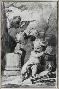 Allegorie op het Gezicht en het Gehoor