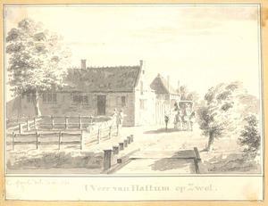 Hattem, het veer op Zwolle
